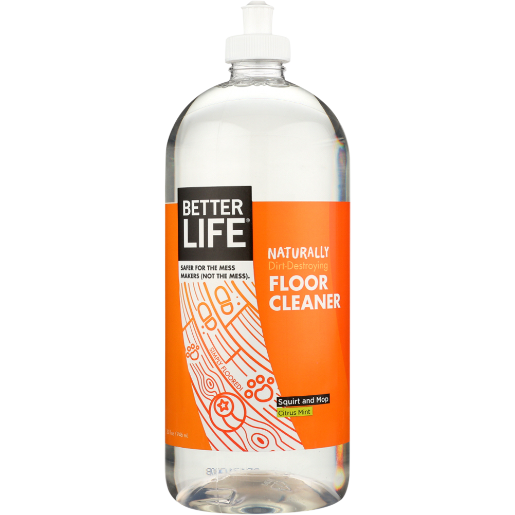 Better Life Simply Floored Natural Floorcleaner Citrus